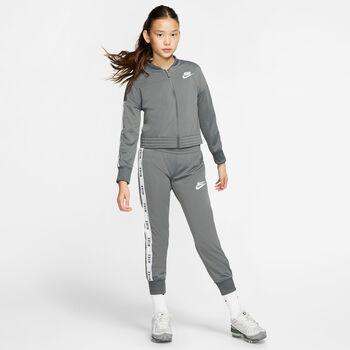 Nike Sportswear Tricot trainingspak Meisjes Grijs