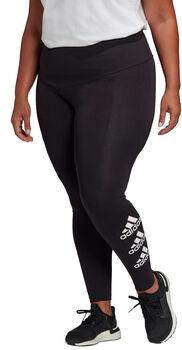 adidas Stacked Logo legging (Grote Maat) Dames Zwart