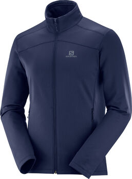 Salomon Discovery fleece Heren Blauw