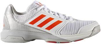 Adidas Multido Essence handbalschoenen Dames Wit