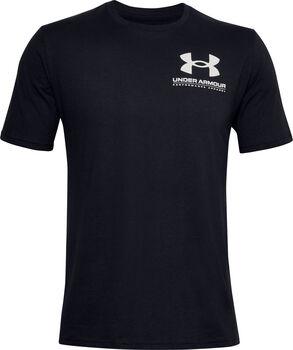 Under Armour Performance Big Logo t-shirt Heren Zwart