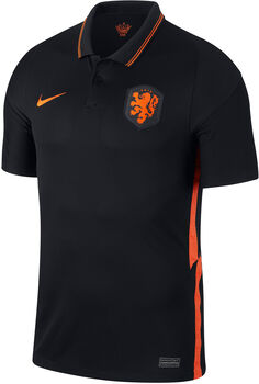 Nike Nederland 2020 Stadion uitshirt Heren Zwart