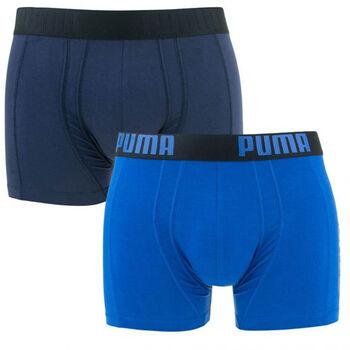 Puma Statement boxer (2 paar) Heren Blauw