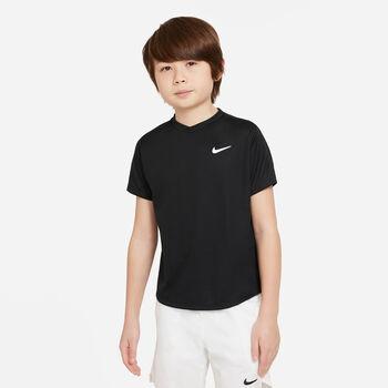 Nike Court Dri-FIT Victory shirt Zwart