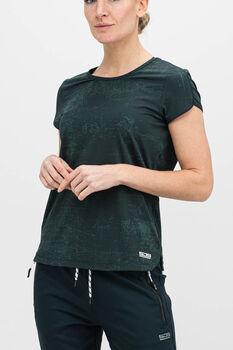 Sjeng Sports Isabella t-shirt Dames Groen