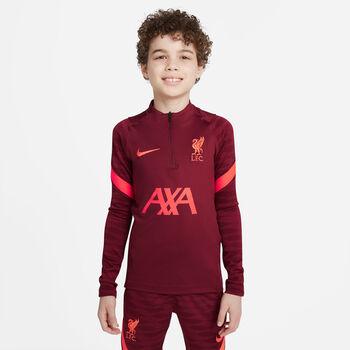 Nike Liverpool FC Strike Drill kids top 21/22  Rood