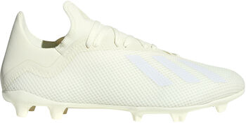 ADIDAS X 18.3 FG voetbalschoenen Wit
