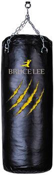 BRUCELEE bruce lee boxing bag 100cm filled with chain Zwart