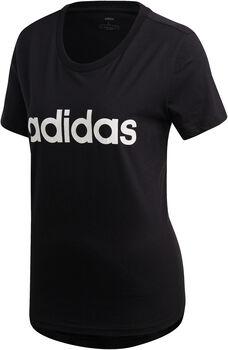 ADIDAS Linear shirt Dames Zwart