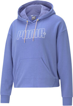Puma Rebel hoodie Dames Blauw