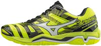 Mizuno Wave Stealth 4 indoorschoenen Heren Geel