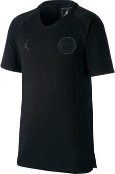 Nike Paris Saint-Germain Dry Squad Drill jr shirt Jongens Zwart