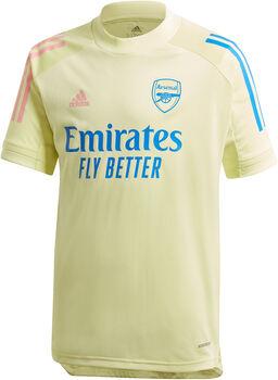 adidas Arsenal Training kids shirt 20/21 Jongens Geel