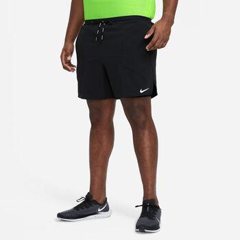 Nike Flex Stride 2-in-1 short Heren Zwart