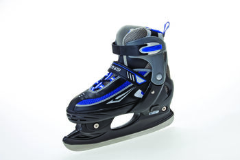 Zandstra Lake Placid hockeyschaatsen Zwart