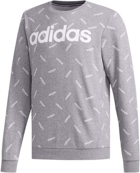 ADIDAS All Over Print sweater Heren Grijs