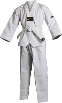 adidas taekwondopak incl. 130 cm band Wit