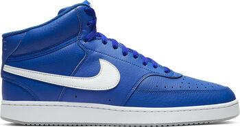 Nike Court Vision Mid basketbalschoenen Heren Blauw