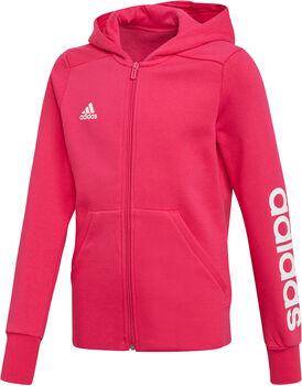 ADIDAS Essentials Mid jr hoodie Roze