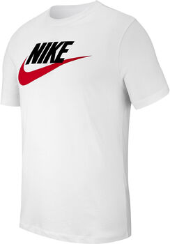 Nike Sportswear Icon Futura shirt Heren Wit