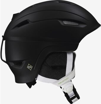 Salomon Icon 4D Custom Air skihelm Heren Zwart