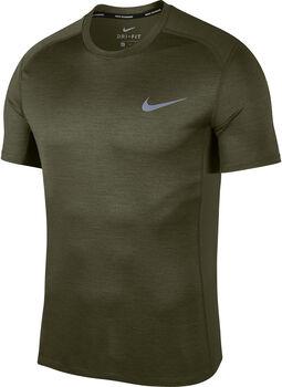 Nike Miler hardloopshirt Heren Groen