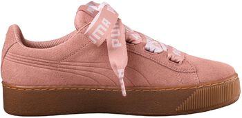 Puma Vikky Platform Ribbon sneakers Dames Oranje