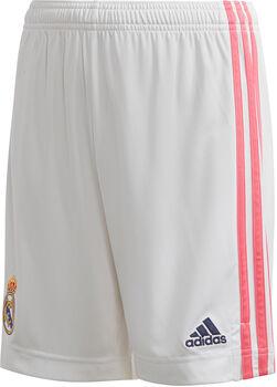 adidas Real Madrid kids thuisshort 20/21  Jongens Wit