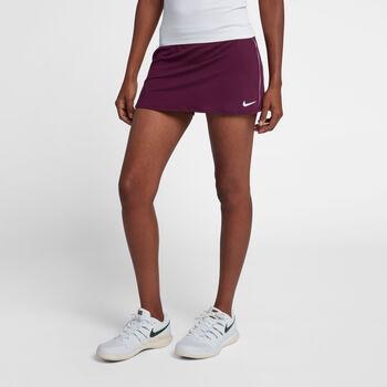 Nike Dry tennisrokje Dames Rood