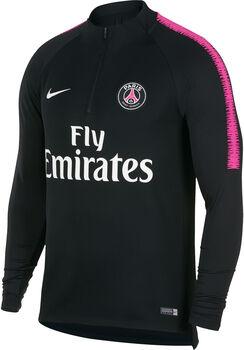 PSG Nike Dry Squad Drill shirt Heren Zwart