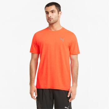 Puma Run Fav Heather shirt Heren Oranje