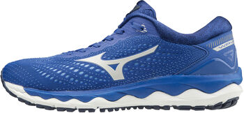 Mizuno Wave Sky 3 hardloopschoenen Dames Blauw