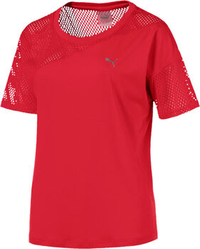 Puma A.C.E. mesh Blocked shirt Dames Rood