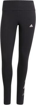 adidas Essentials Stacked Logo High-Rise Legging Dames Zwart
