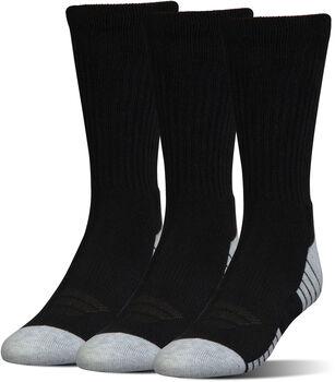 Under Armour Heatgear Tech Crew 3-pack sokken Heren Zwart