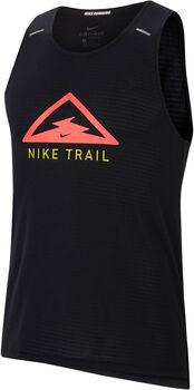 Nike Rise 365 Trail tank Heren Zwart