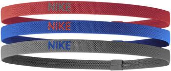 Nike Elastic haarbandjes 3-pack Rood