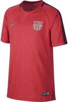 Nike Dry FC Barcelona Squad shirt Jongens Rood
