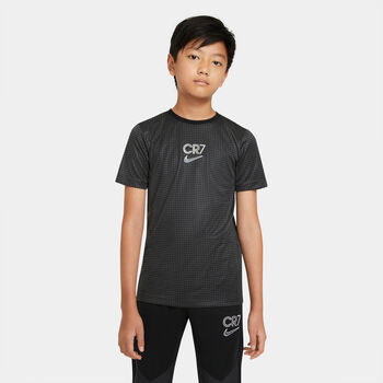 Nike CR7 shirt Jongens Zwart