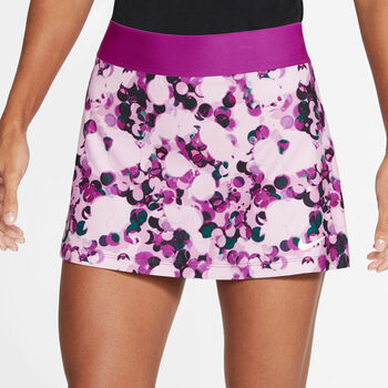 Nike Court Dri-FIT Printed rok Dames Roze