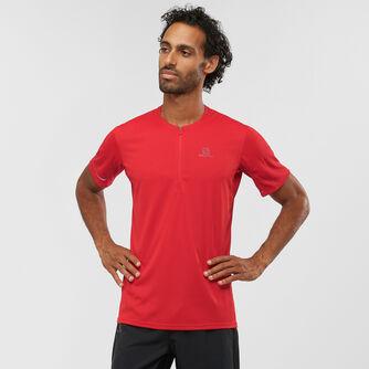 Agile Half Zip t-shirt