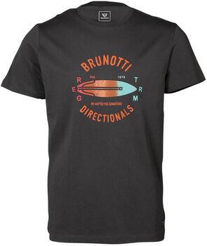 Brunotti Tim-Print t-shirt Heren Grijs