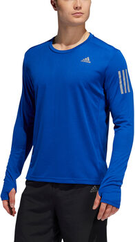 ADIDAS Own The Run longsleeve Heren Blauw