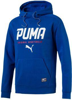 Puma Style Tec hoodie Heren Blauw