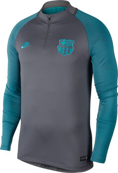 Nike FC Barcelona Trainingstop 2019-2020 Heren Grijs