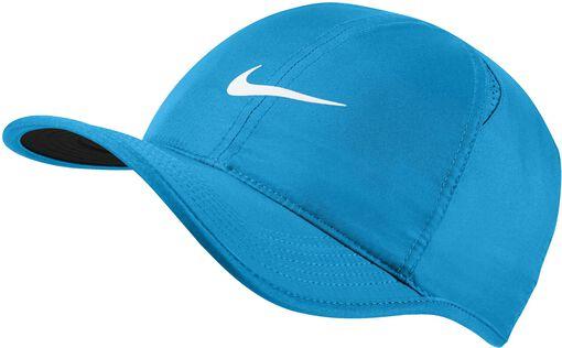 Nike - Featherlight pet - Unisex - Petten, Hoeden en Mutsen - Blauw