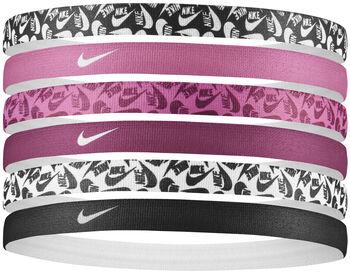 Nike Printed hoofdbanden 6pk Heren Zwart