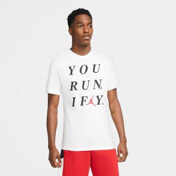 Nike Jordan I Fly t-shirt Heren Wit