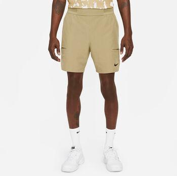 Nike Court Flex Advantage short Heren Bruin