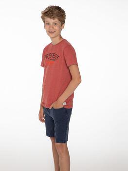 Protest Lucas kids shirt Jongens Bruin